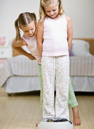 Greutatea copilului, cand este cazul sa iei masuri?