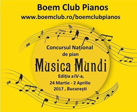 Concursul National de Pian Musica Mundi  si expozitia de piane si pianine acustice marca Perzina