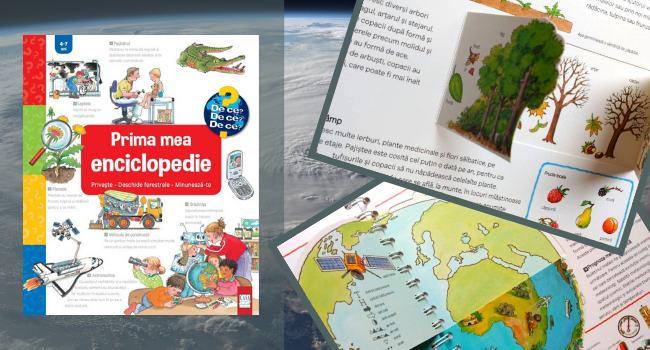 Prima mea enciclopedie - universul servit celor mici