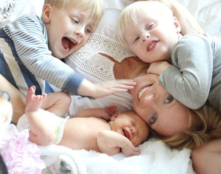 Mamele cu mai multi copii sunt mai longevive