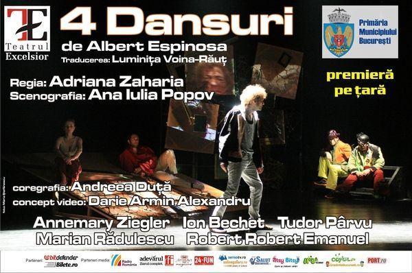 Program spectacole, Teatru Excelsior, decembrie 2012
