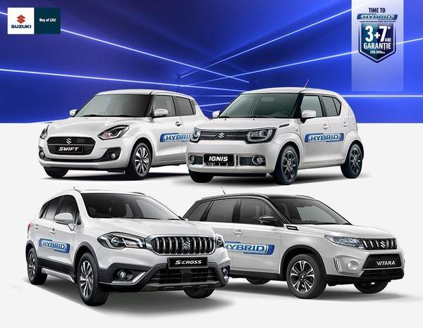 Suzuki, primul producator care comercializeaza doar modele hibrid