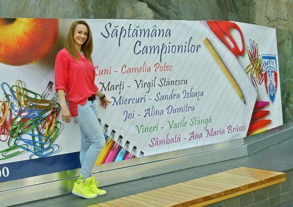 Sase mari sportivi au marcat Saptamana campionilor la AFI Palace Cotroceni!