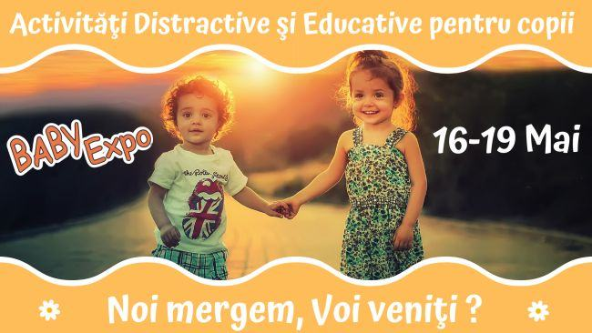 Activitati distractive si educative pentru copii, la BABY EXPO!