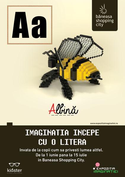 Baneasa Shopping City invita copiii la un concurs creativ: Abecedarul Imaginatiei