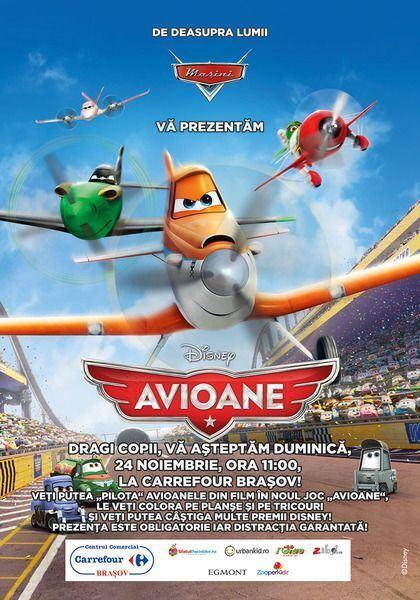 Eveniment Avioane pentru copii la Centrul Comercial Carrefour Brasov