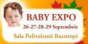 Noutatile toamnei la BABY EXPO, Editia 40!