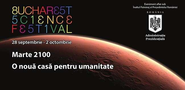 Bucharest Science Festival, 28 septembrie - 2 octombrie