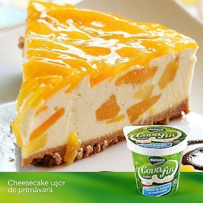 Cheesecake de primavara