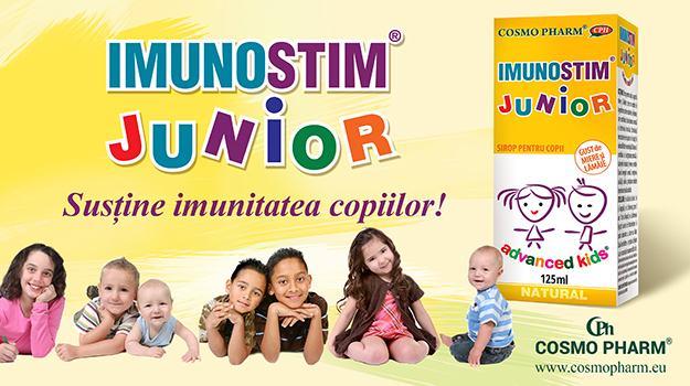 Imunitatea copiilor - un mecanism complex, care poate fi ajutat sa functioneze corect
