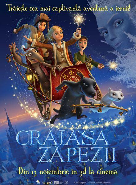 Claudia Pavel imprumuta vocea unui personaj animat in Craiasa Zapezii