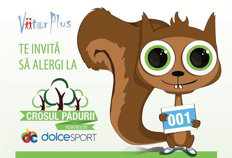 Copii si parinti, veniti in pasi alergatori la Crosul Padurii-Dolce Sport!