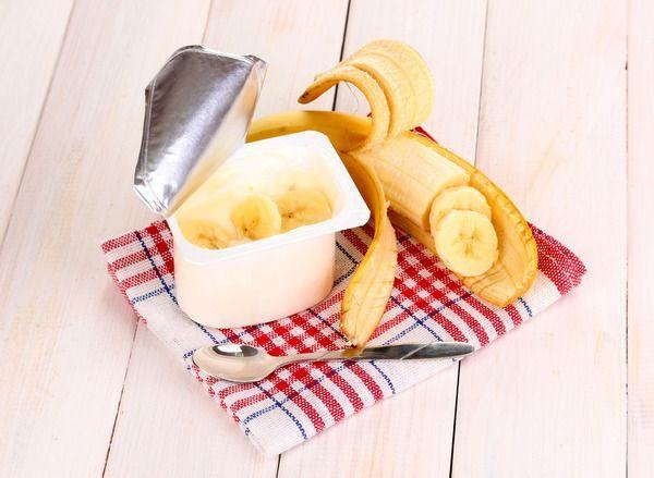 Desert din banana si iaurt