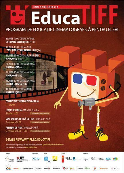 O noua editie EducaTIFF plina de surprize!