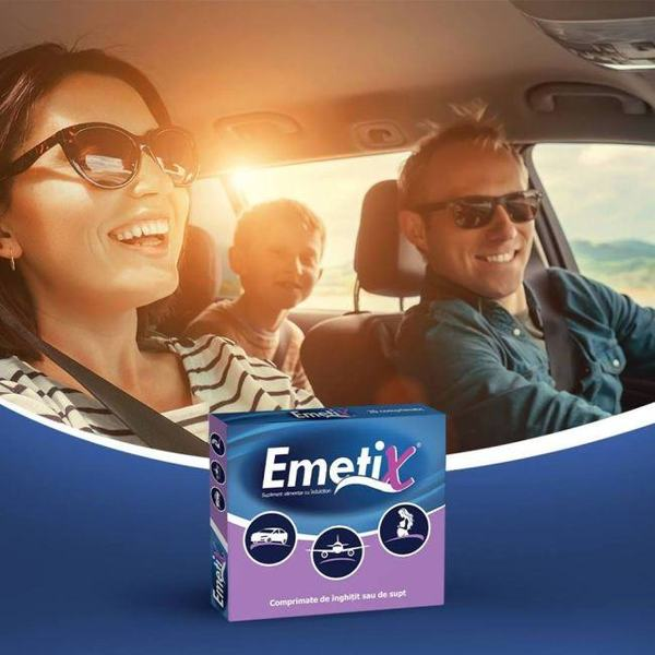 """Cu Emetix dai """"X"""" problemelor cauzate de raul de miscare"""