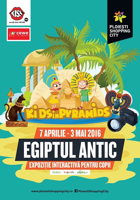 Expozitia Egiptul Antic, o aventura plina de surprize in istoria fascinanta a egiptenilor