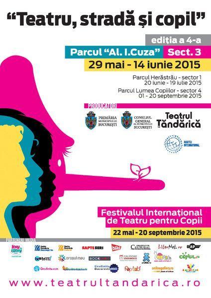 Teatrul Tandarica anunta inceperea Festivalului International Teatru, Strada si Copil
