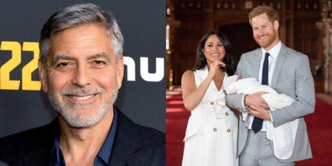 George Clooney nu vrea sa boteze bebelusul regal.