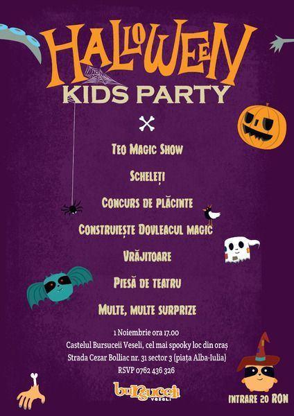 Cea mai spooky petrecere de Halloween!