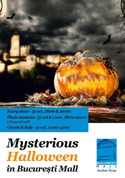 Un Halloween plin de mistere la Bucuresti Mall