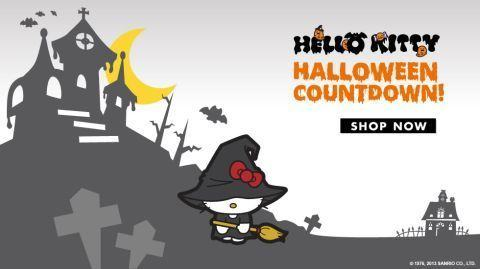 Pisica alba Hello Kitty aduce noroc si reduceri de Halloween
