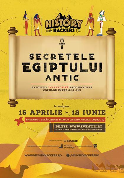Secretele Egiptului Antic - la Brasov, din 15 aprilie