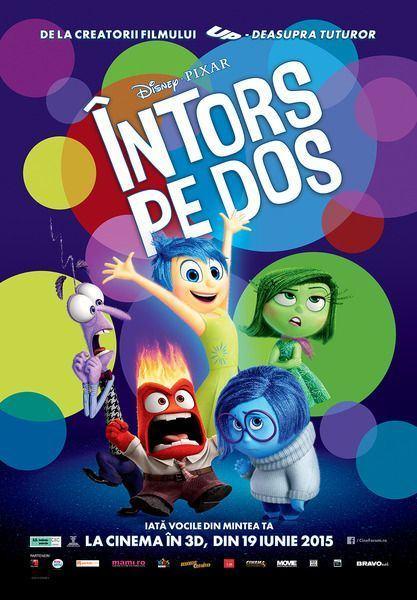 Afla ce spun vocile din mintea ta, in cel mai nou film Disney - Pixar