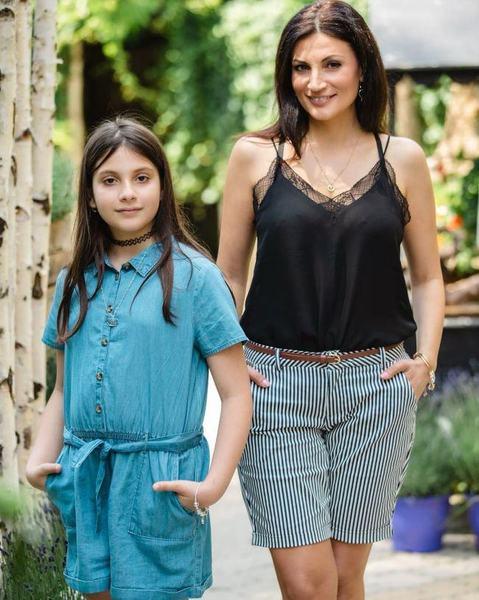 Ioana Ginghina si-a dus fetita la psiholog pentru a-i spune ca tatal sau are o iubita noua