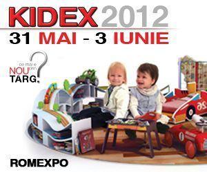 De 1 iunie te asteptam sa serbezi Ziua Copilului la KIDEX!