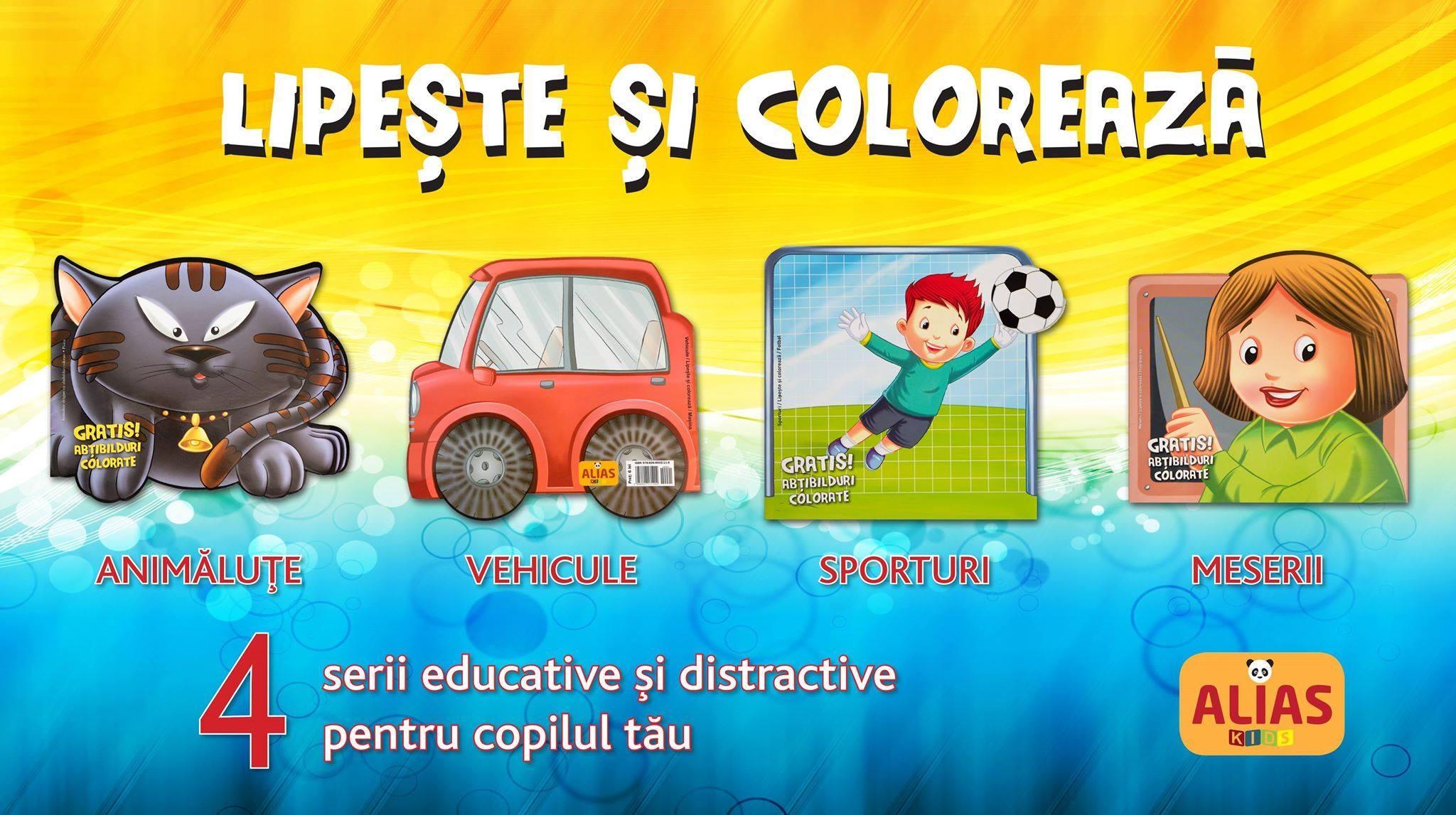 O noua colectie de carti educative si distractive pentru copilul tau!