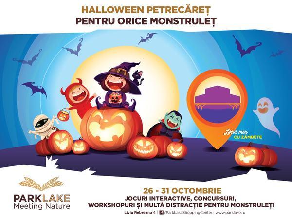 Un Halloween petrecaret pentru orice monstrulet. Sase zile de distractie la ParkLake Shopping Center