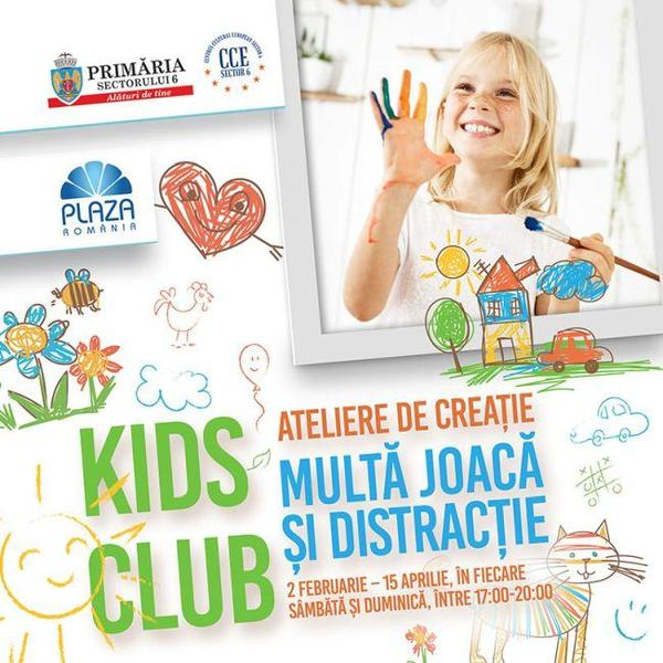Micutii creativi se pregatesc de Paste la Kids Club din Plaza Romania