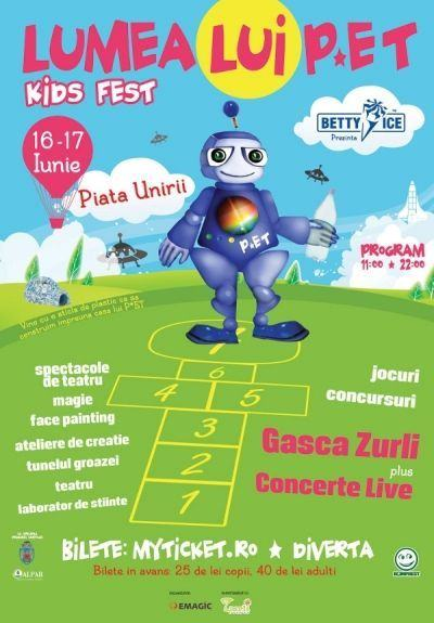 Lumea lui P*ET, primul festival dedicat copiilor