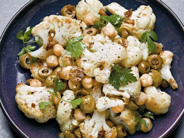 Mancare de legume coapte cu naut