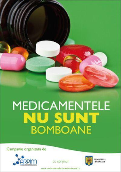 Medicamentele nu sunt bomboane - o campanie de responsabilitate sociala
