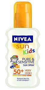 NIVEA Spray1 protectie copii Pure Sensitive 50