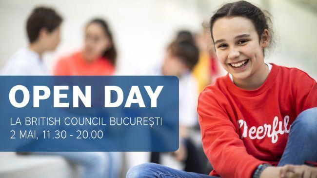 Parinti si copii, invitati sa descopere engleza in familie la British Council Open Day