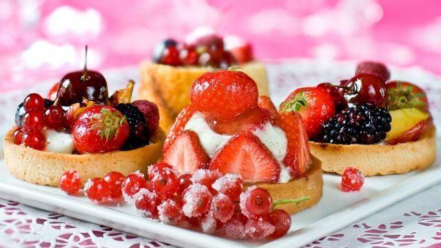 Prajitura cu fructe