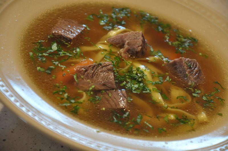 Supa de carne de vita