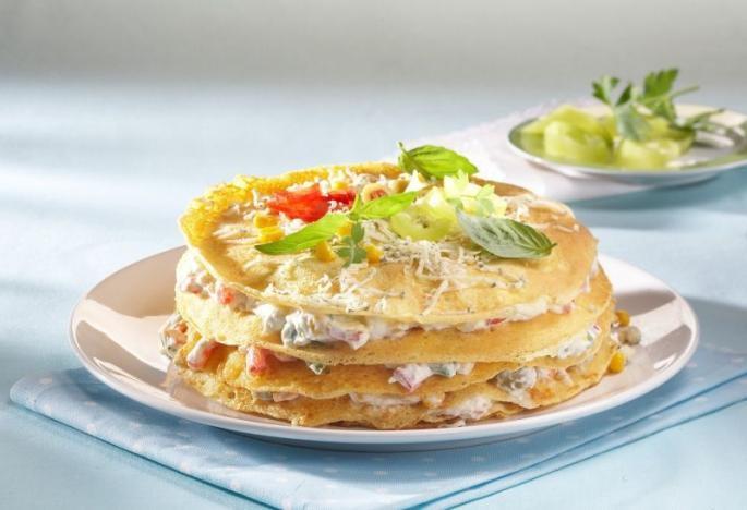 Tort aperitiv din clatite