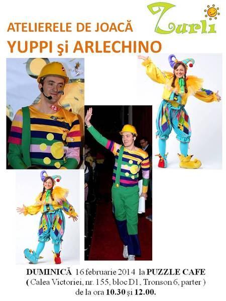 La Atelierele de joaca ZURLI facem super Carnaval!