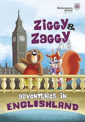 Ziggy and Zaggy Adventures in Englishland. Lansare de carte la Shakespeare School