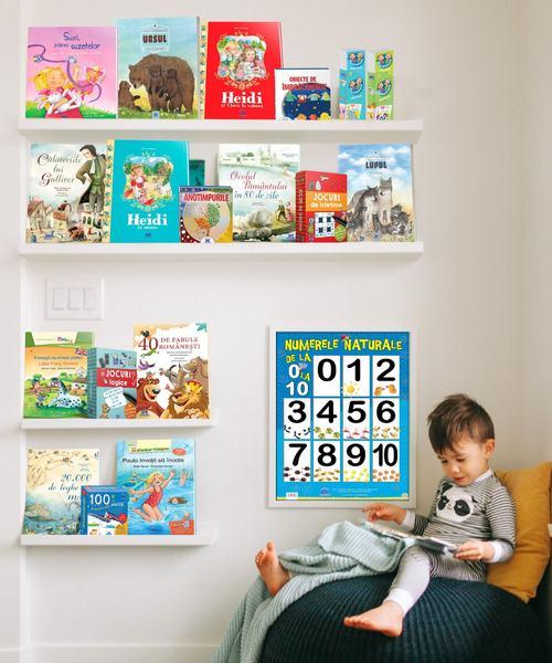 Top carti care contribuie  la dezvoltarea cognitiva si emotionala a copiilor