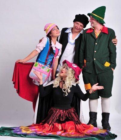 Teatrul Zurli prezinta Hansel si Gretel