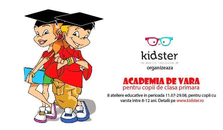 Academia de vara pentru copiii de clasa primara