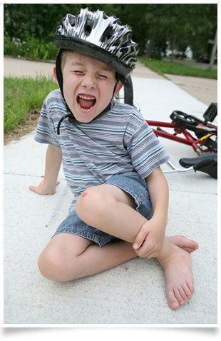 Ce fac in cazul in care copilul meu sufera un traumatism dentar?