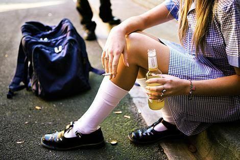 Adolescentul si consumul de alcool