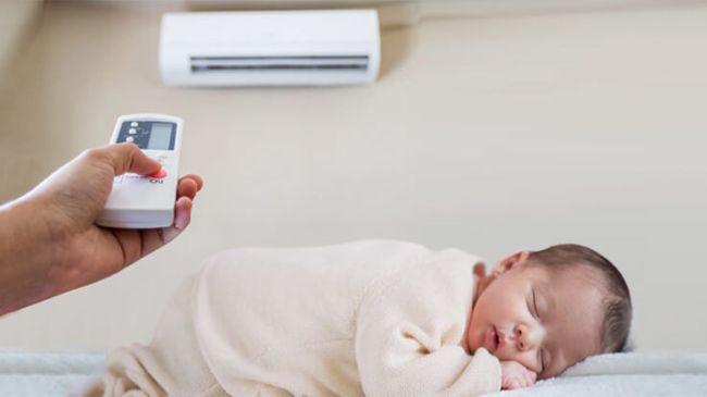 Cum sa folosesti aerul conditionat intr-o casa in care este un bebelus