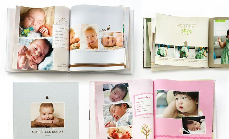 12 idei sa pastrezi pozele copilului tau