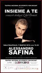Concert extraordinar Alessandro Safina de Ziua Femeii